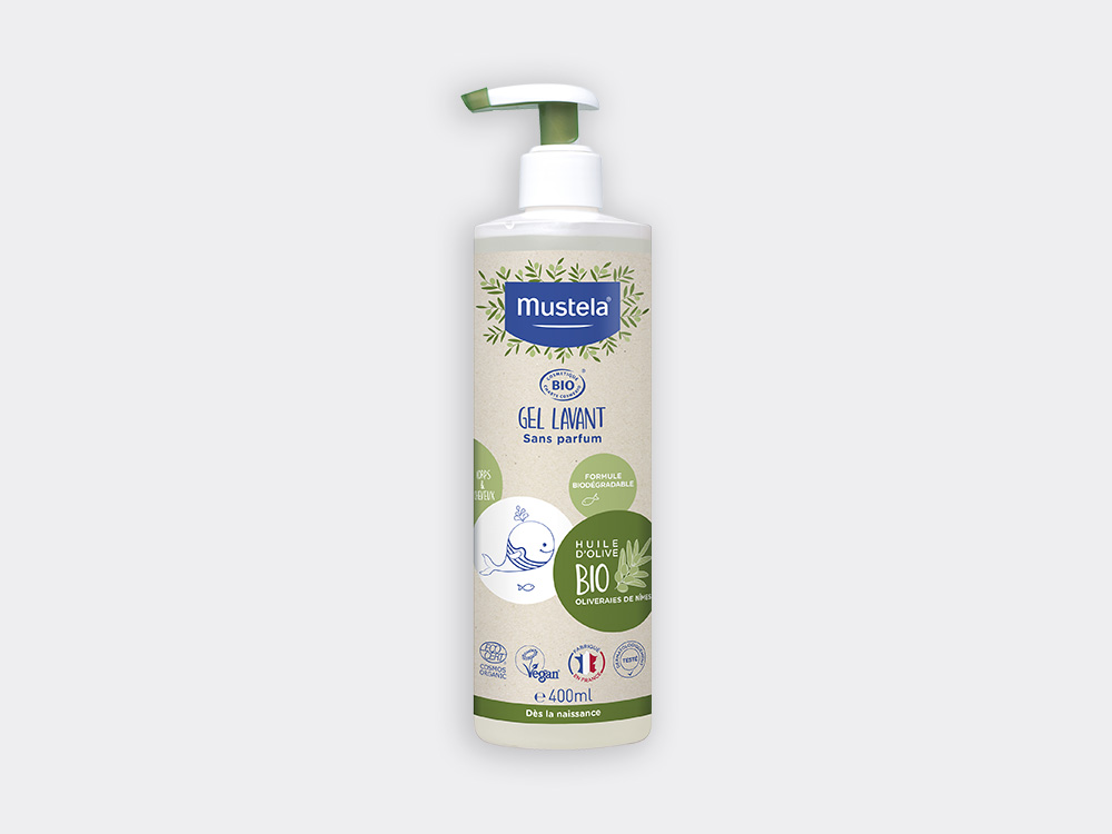 Mustela BIO Gel lavant 400ml